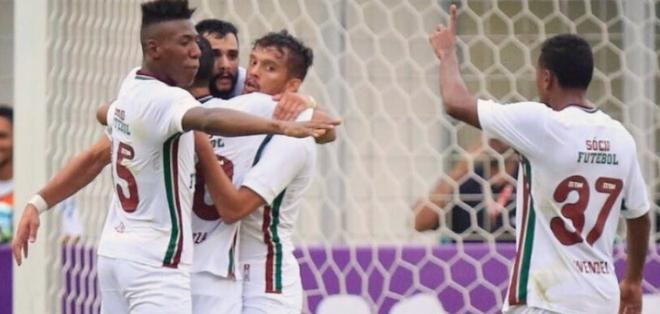 El 'Flu' está en la segunda posición  del torneo brasileño. Foto: Tomada de la cuenta Twitter @FluminenseFC