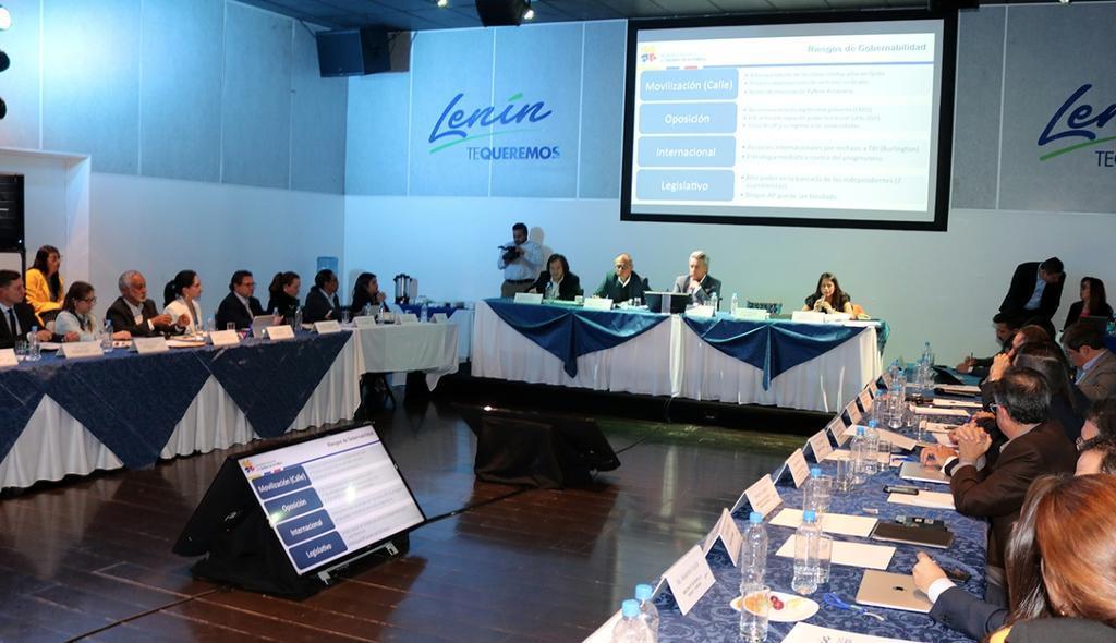 QUITO, Ecuador.- En la conformación del nuevo equipo de trabajo, Moreno excluyó la figura de los ministros coordinadores. Foto: Prensa Lenín Moreno