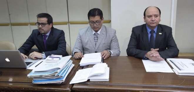 QUITO.- El fiscal general del Estado, Carlos Baca Mancheno, solicitó a la Corte Nacional de Justicia. Foto: API
