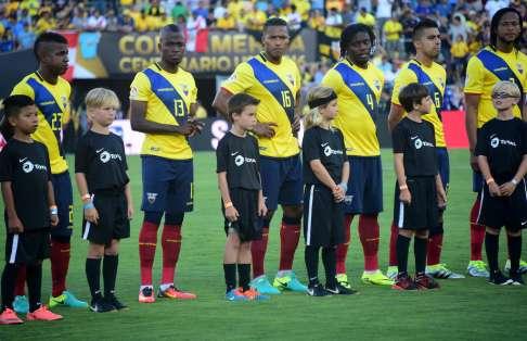 La selección ecuatoriana se prepara para los últimos cuatro partidos de eliminatorias. Foto: Archivo
