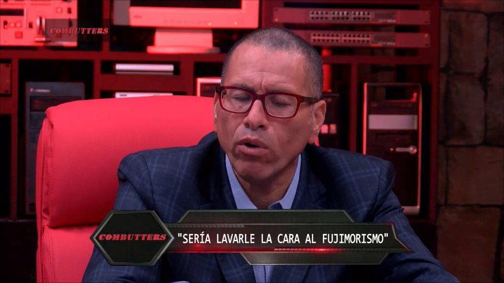Phillip Butters es el conductor del programa peruano y el que hizo los comentarios racistas. Foto: Tomada de youtube.com