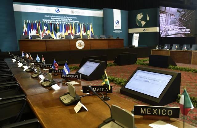 Venezuela inscribió una delegación para la Asamblea pues sigue siendo miembro. Foto: AFP