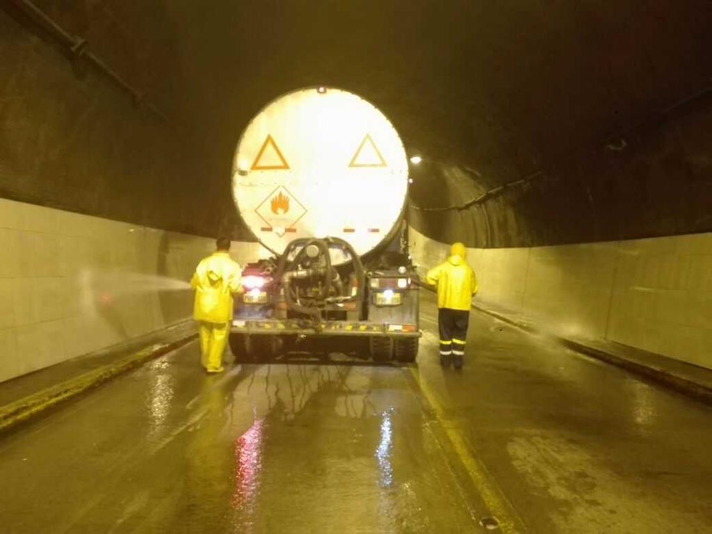 QUITO, Ecuador.- Los túneles San Juan, San Roque y San Diego se cerrarán desde las 22h30 del miércoles 21 de junio. Foto: Agencia de Noticias Quito.