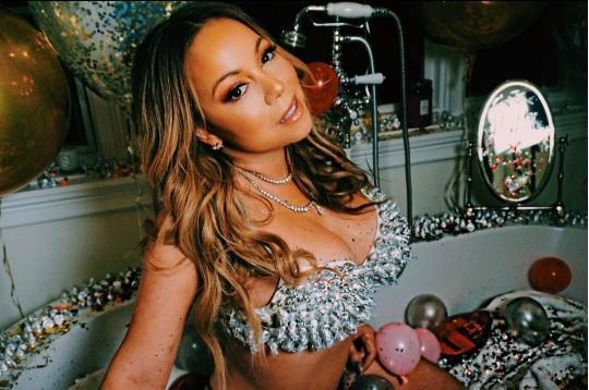Mariah Carey se fue al gimnasio en tacones y le llovieron las críticas. Foto: Instagram