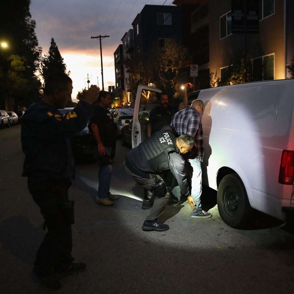 """Las """"ciudades santuario"""" no cooperan con entidades ni agentes del orden federal en materia migratoria. Foto: Archivo / AFP"""