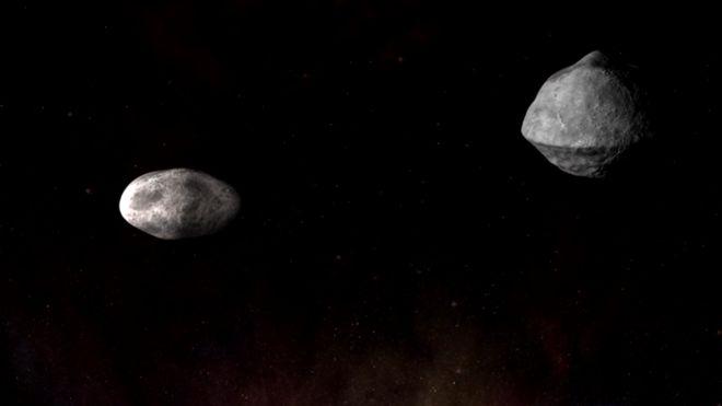 La NASA planea impactar al asteroide Didymos para probar su técnica de deflexión, para desviar los cuerpos que se acerquen a la Tierra.