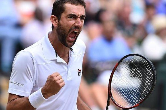 El croata Marin Cilic accedió a su segunda final en un Grand Slam, la primera en Wimbledon.