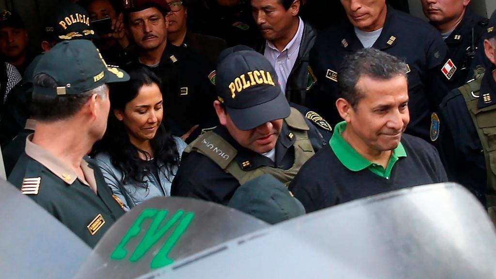 PERÚ.- Medios peruanos muestran cómo son las cárceles donde permanecen Humala y su esposa. Foto: Agencias