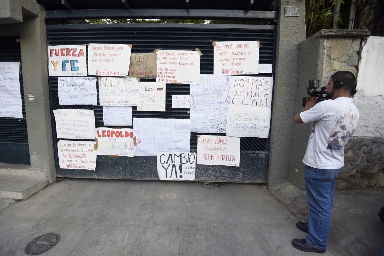 """VENEZUELA.- La oposición rechaza la Constituyente por considerarla un mecanismo """"fraudulento"""" para perpetuar a Maduro en el poder. Foto: AFP"""