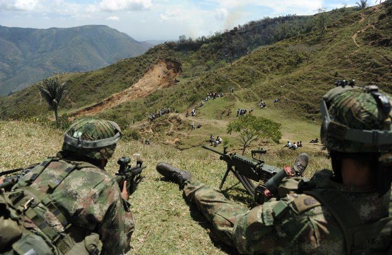 BOGOTÁ, Colombia.- El enfrentamiento se presentó en la subregión del Bajo Cauca. Foto Ilustrativa/LA FM.