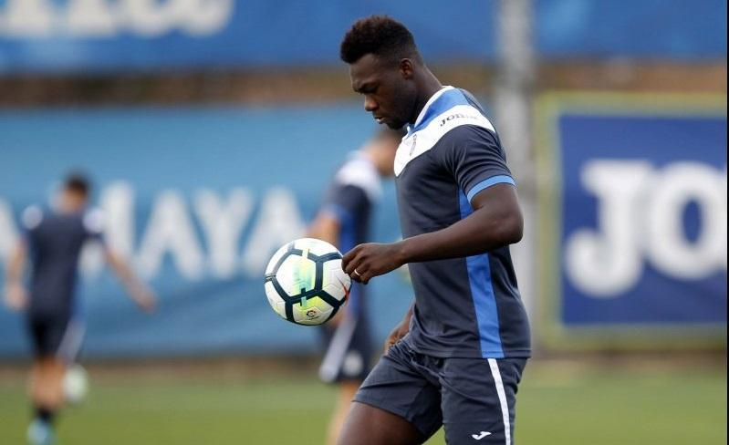 El delantero ecuatoriano Felipe Caicedo no tiene espacio en el Espanyol, espera definir su futuro.