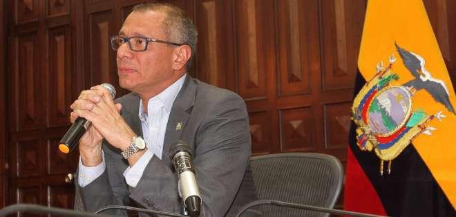 Vicepresidente Glas dijo el jueves que habría un nuevo audio sobre él. Foto: Flickr Vicepresidencia