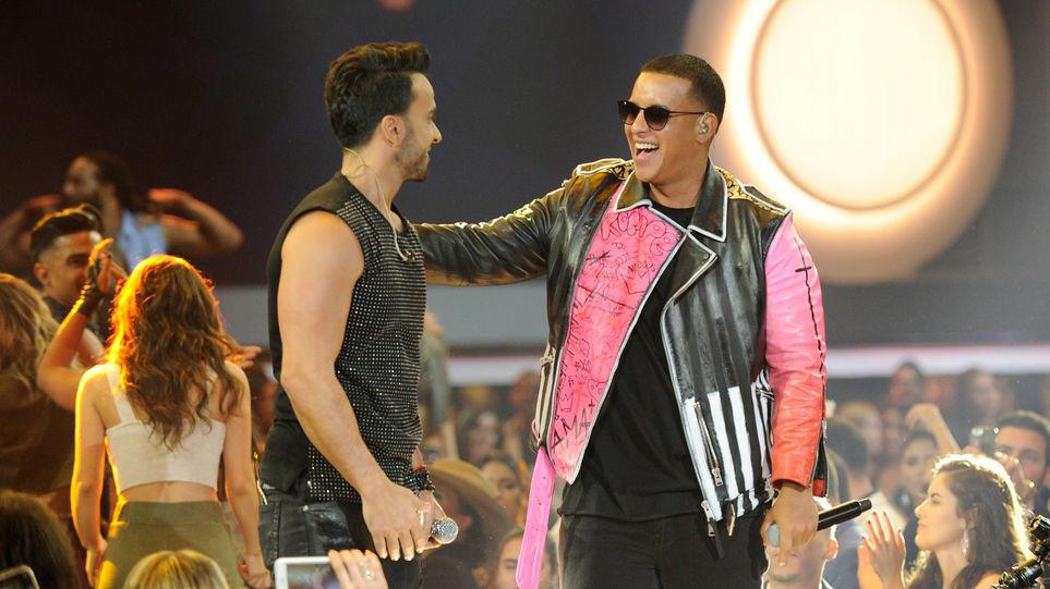 NUEVA YORK, EE.UU.- Daddy Yankee dijo al sitio web de la revista Billboard el viernes 4 de agosto de 2017 que se sentía feliz y deslumbrado por haber quebrado el récord. Foto: AFP.