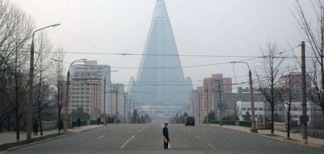 Aspiraba a convertirse en el hotel más alto del mundo y en un símbolo de éxito de Corea del Norte.