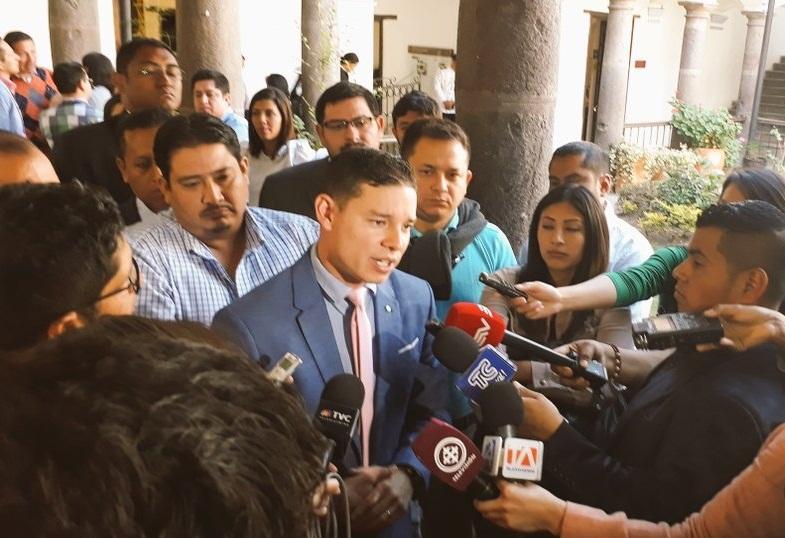 QUITO, Ecuador.- Iván Espinel, ministro de Inclusión Económica y Social, responde al comunicado remitido por Alianza PAIS sobre sus declaraciones. Foto: Twitter MIES