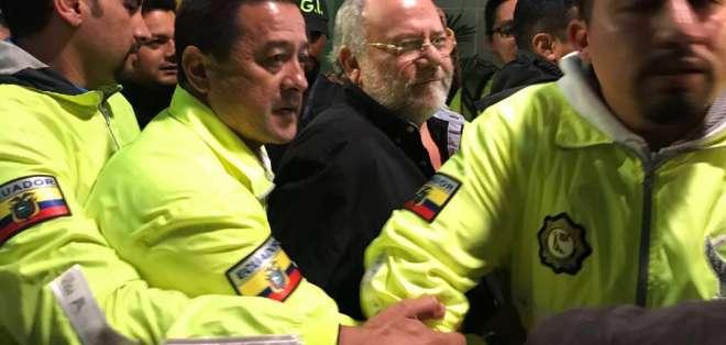 """QUITO, Ecuador.- José Serrano indicó que entrega de 'Capaya' se concretó  """"sin condicionamientos"""". Foto: Secom"""