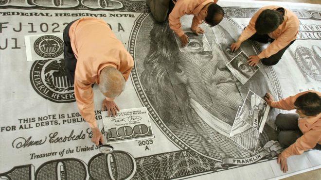 La divisa estadounidense está de capa caída.