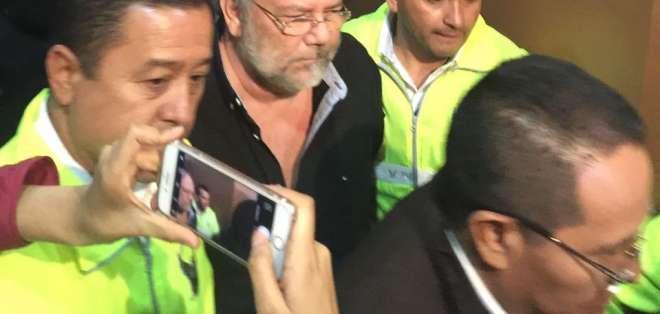 """QUITO, Ecuador.- José Serrano indicó que entrega de 'Capaya' se concretó  """"sin condicionamientos"""". Foto: Secom."""