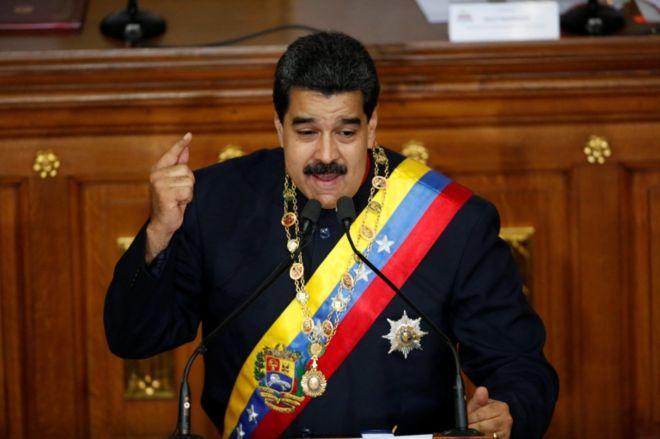 El mandatario venezolano pidió a su canciller que gestione un encuentro con Donald Trump. Foto: