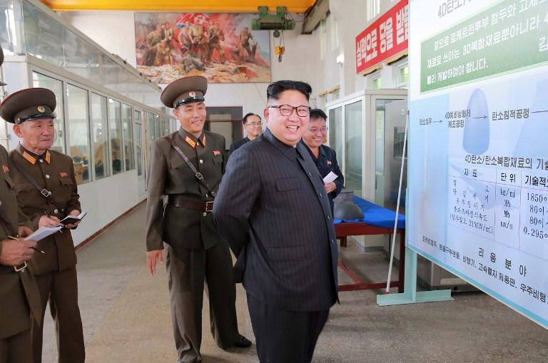 Corea del Norte ha amenazado con lanzar una salva de misiles en las cercanías de la isla de Guam. Foto: AFP