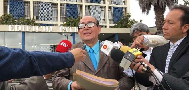 Eduardo Franco asegura que la información recabada por Fiscalía no se ha comprobado. Foto: API