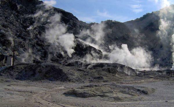 Ocurrió en el cráter Solfatara de Pozzuoli, en Italia.