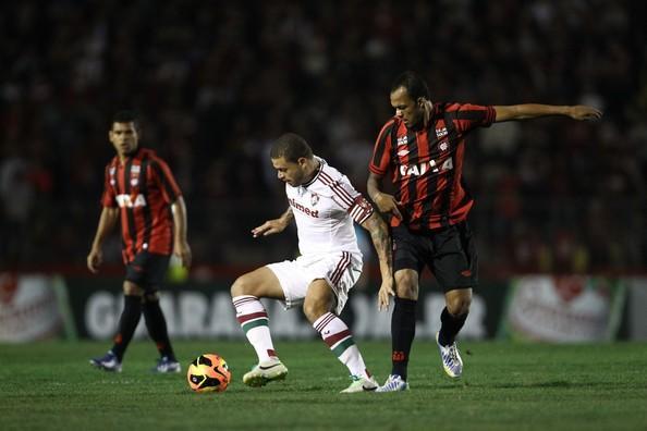Fluminense cayó en su visita ante el Atlético Paranaense en el Brasileirao.