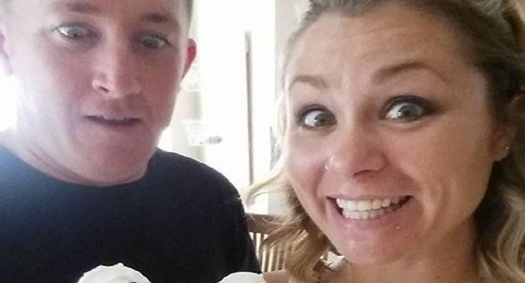 Amber Cole le preparó una peculiar torta que causa furor. Foto: Facebook