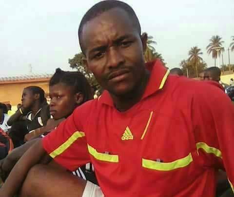 El juez realizaba una prueba física para la federación guineana de fútbol. Foto: Tomada de Guineefoot.info