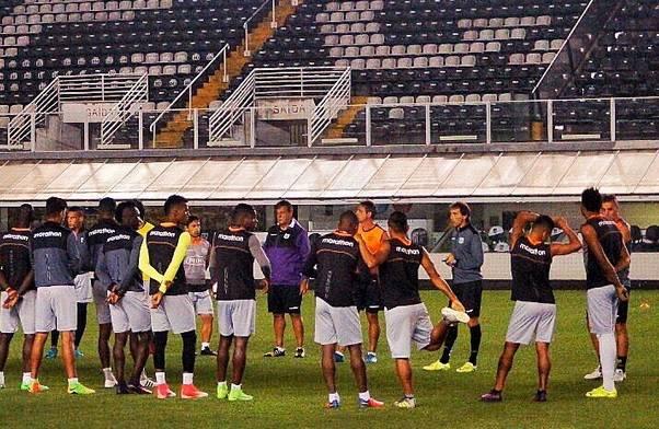 Los 'Toreros' se encuentran en Brasil desde el pasado lunes. Foto: Tomada de la cuenta Twitter @BarcelonaSCweb