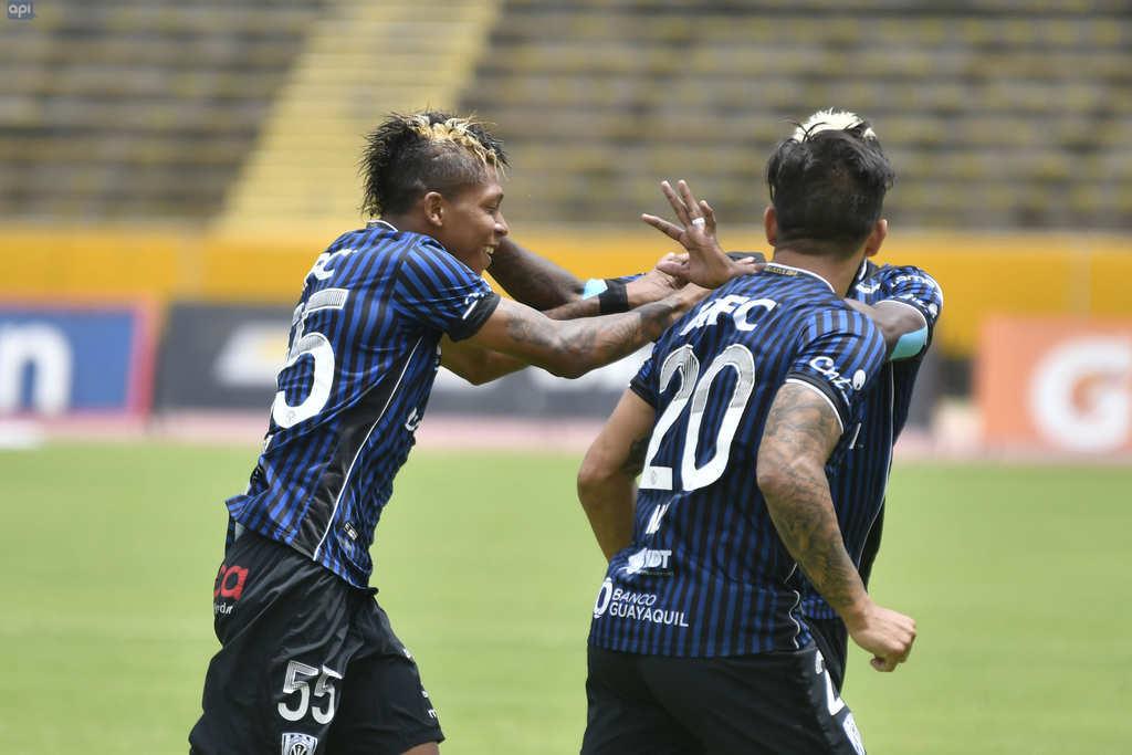 El elenco de Sangolquí quedó a 3 de los líderes Deportivo Cuenca y Delfín. Foto: API
