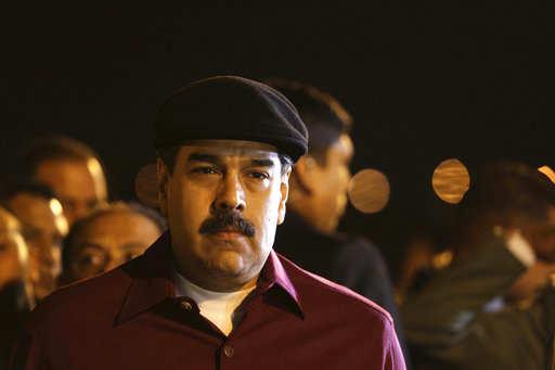 """El gobierno de Nicolás Maduro tildó de """"irracional"""" la sanción. Foto: Archivo AP"""