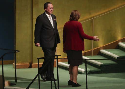 La crisis nuclear norcoreana ha dominado la reunión de este año. Foto: AP