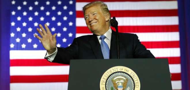Trump realizará una larga gira por cinco países de la región Asia Pacífico en noviembre como parte de los esfuerzos de Estados Unidos para enfrentar la amenaza creciente de Corea del Norte, informó la Casa Blanca el viernes 29 de septiembre de 2017. Foto: AP