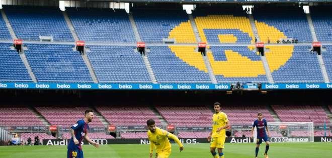 La directiva del FC Barcelona resolvió que se juegue a puertas cerradas ante Las Palmas.
