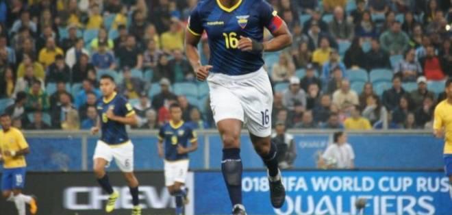 Antonio Valencia analiza la posibilidad de dar un paso al costado en la selección.