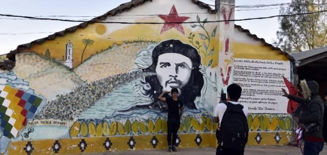 El Che fue capturado el 8 de octubre de 1967 por el Ejército de Bolivia. Foto: AFP