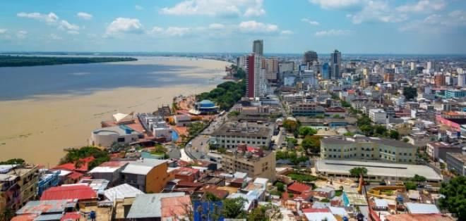 Guayaquil tiene 2'644.891 habitantes lo que le convierte en el cantón más poblado del país. Foto: Archivo