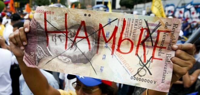 """VENEZUELA.- """"La intensificación de la crisis política en Venezuela pesa mucho sobre la actividad económica, que se espera que se contraiga más de 10% en 2017"""", indica el FMI. Foto: Archivo"""
