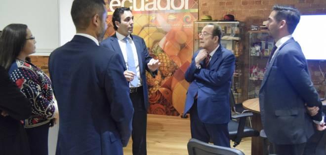 QUITO, Ecuador.- Según el secretario de Estado, las propuestas del Consejo Consultivo fueron consideradas. Foto: Ministerio de Comercio Exterior
