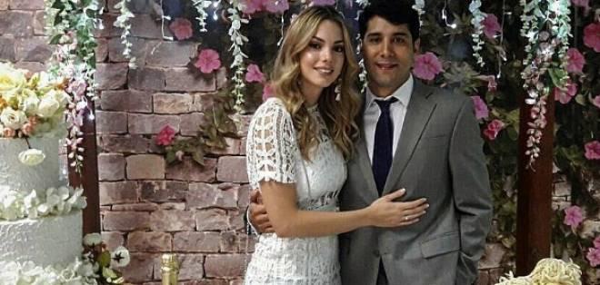 """""""Hemos escalado otro nivel de nuestra relación, me siento completa"""", comentó Carolina.Foto: Instagram Carolina Aguirre"""