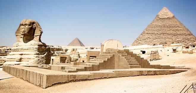 Las pirámides egipcias también forman parte de la lista de Patrimonio de la Humanidad. Foto: Pixabay
