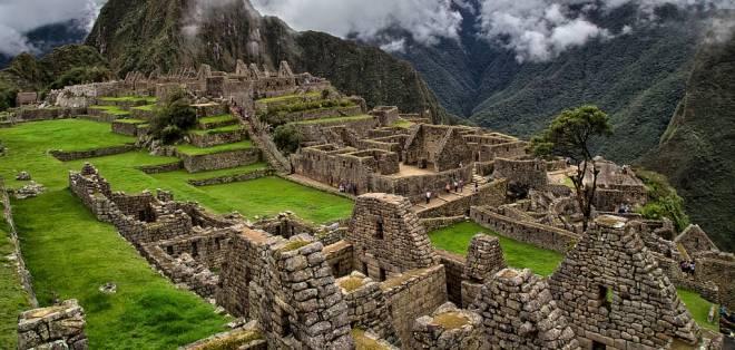 Las ruinas del Machu Pichu, se encuentran al sur de Perú, también considerada patrimonio mundial. Foto: Pixabay