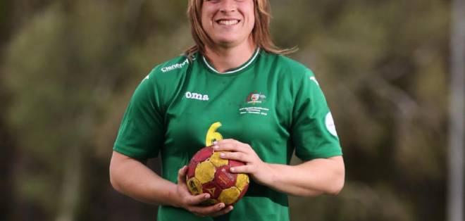 Mouncey jugó, años atrás, en el equipo masculino de balonmano. Foto: Tomada de newsapi.com.au