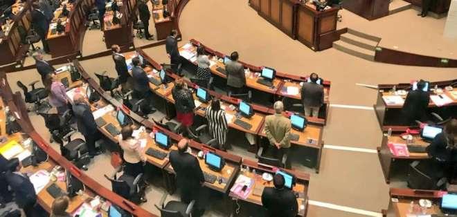 Aprobación de Comisión de Justicia de Asamblea estuvo a punto de primer debate. Foto: Twitter @JusticiaAN