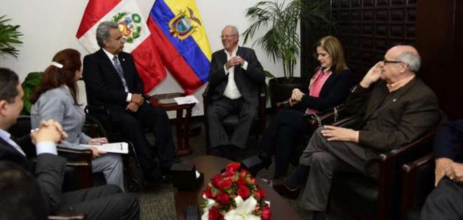 """TRUJILLO, Perú.- """"Estoy seguro que llegaremos a fructíferos acuerdos para nuestros países hermanos en este XI Gabinete"""", dice Kuczynski. Foto: Presidencia"""