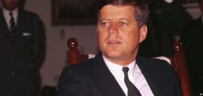 Donald Trump autorizó abrir los documentos secretos del asesinato de John F. Kennedy. Foto: Archivo