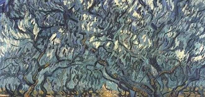 "La obra ""Los olivos"" de Vicent van Gogh esconde un secreto. Foto: Pixabay"
