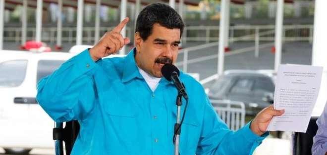 Maduro hizo el anuncio el pasado 2 de noviembre.