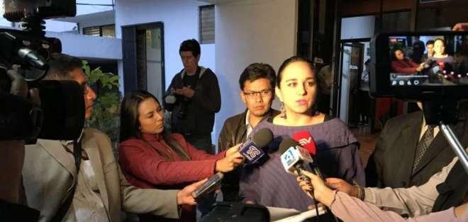 Rivadeneira aseguró que por esta falta los jueces penales podrían ser destituidos de sus cargos. Foto: Twitter @35PAIS